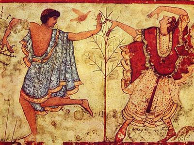 Saturnalia - two dancers